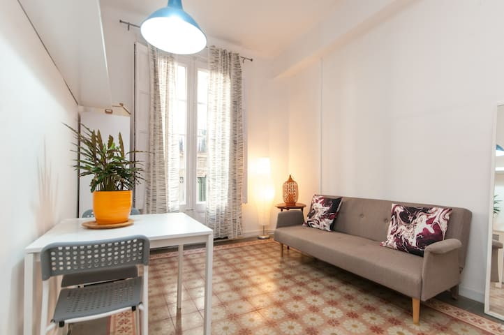 COZY 1BDR APARTMENT NEAR LAS RAMBLAS