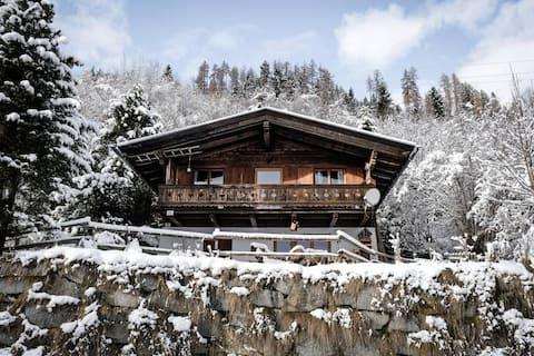 Timber lodge on Sonnberg