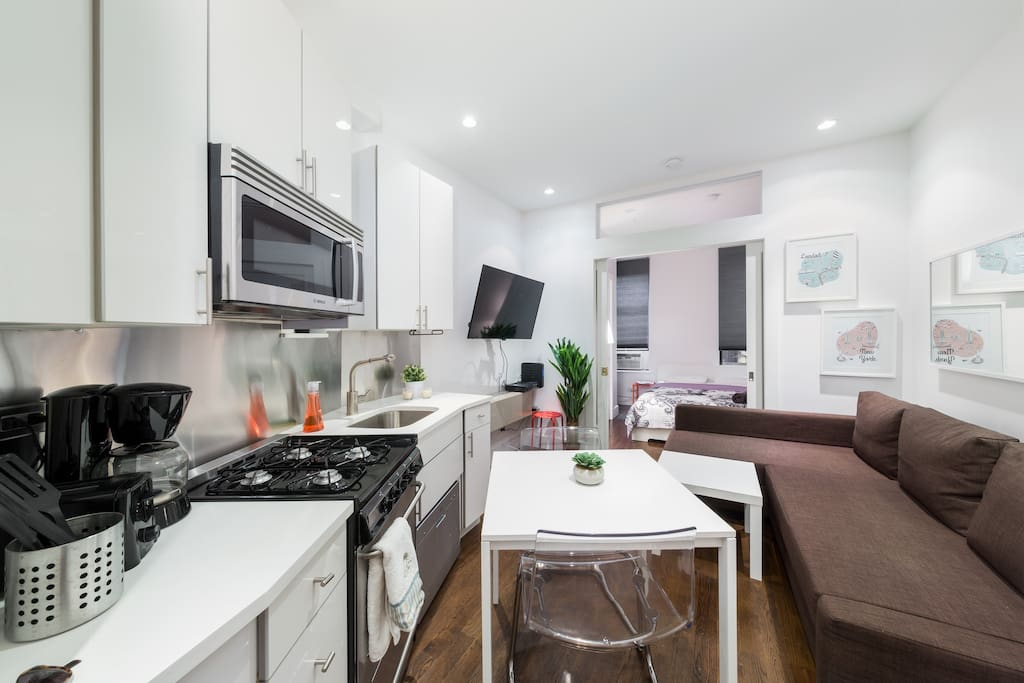 Beautiful and modern 1br apt in manhattan center for Beautiful apartments in nyc