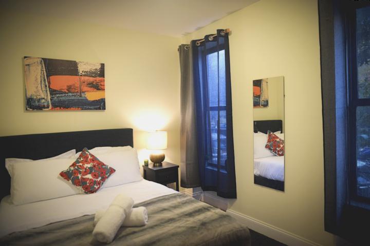 Blue Luxury Private Bedroom