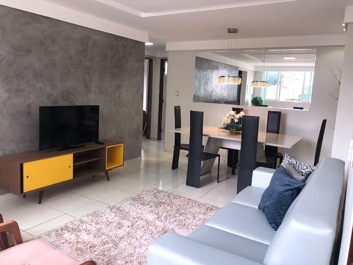 Apartamento aconchegante em Manaíra-JP