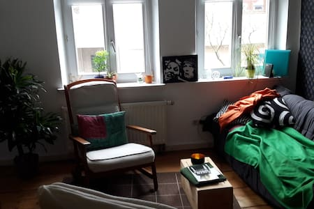 Angenehme Wohnung in der Innenstadt - Memmingen - Lejlighedskompleks