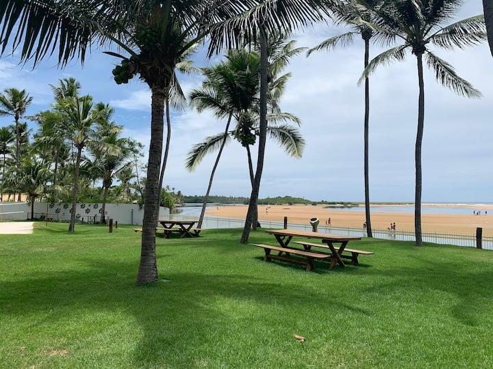 Paraíso perto de Salvador - vista linda Rio e Mar!