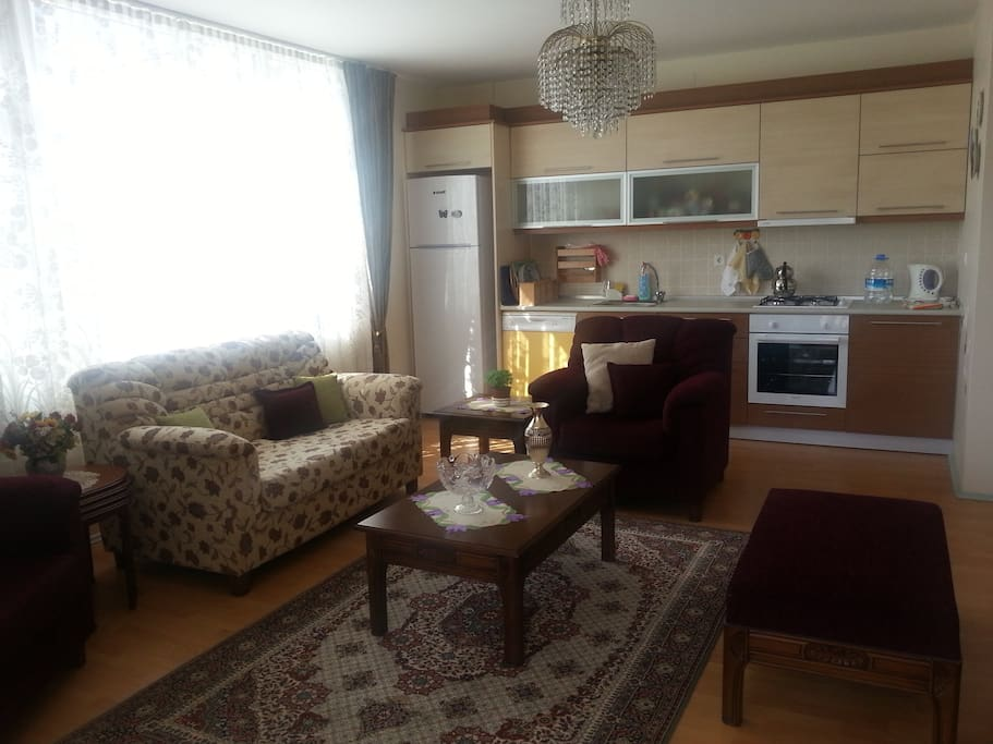 A clean, cosy apartment, perfect for a family with two children or four friends.