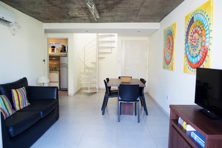 Moderno departamento con Terraza en La Plata