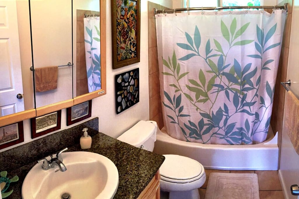 Your bathroom...