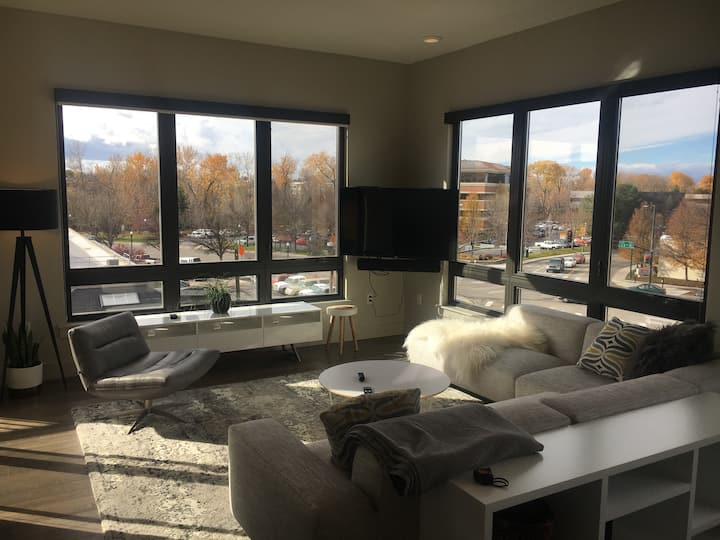 High-End Downtown Boise Condo - Extended Stay