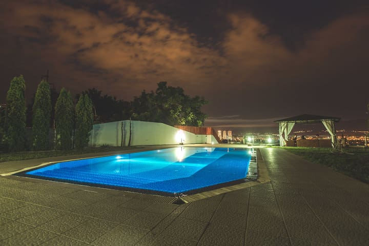 A glimpse of the wonders of our Outdoor Pool