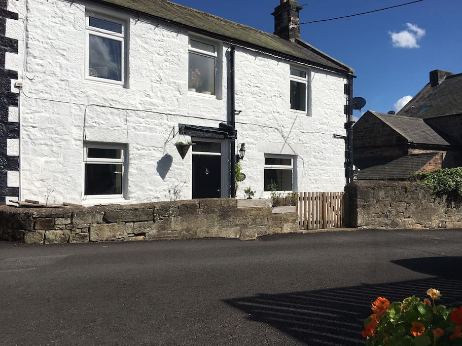 Heather View, a character Cottage in the centre of Rothbury, Northumberland.