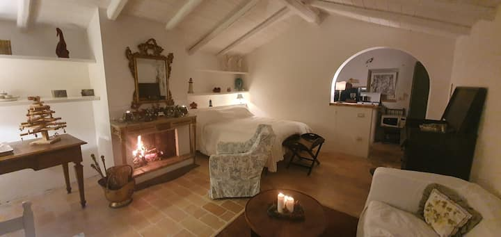 Mondomini - Charming cottage with view on the sea