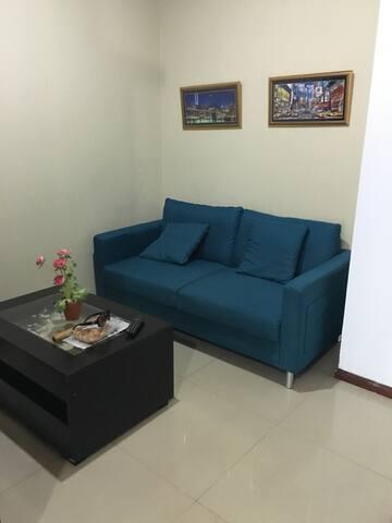 A cozy condo right in the center of Jakarta