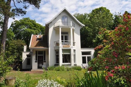 Romantische villa aan de duinrand - スコールル