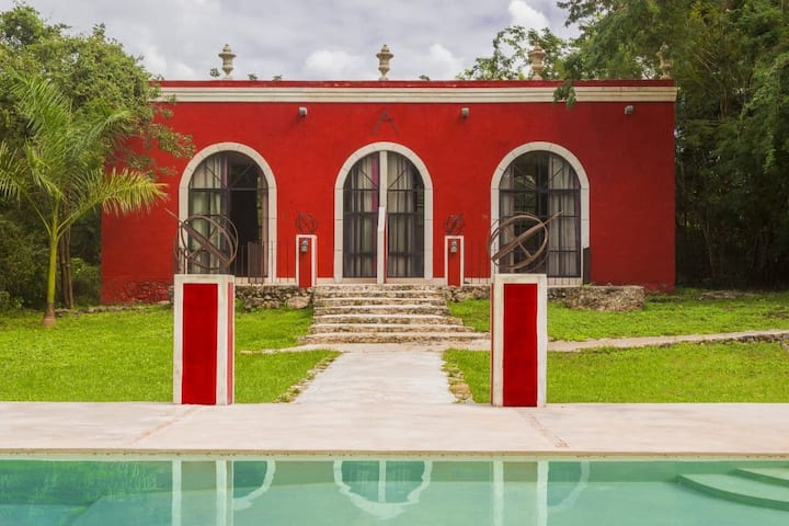 Hacienda Ticum: A slice of timeless Mexico Suite15