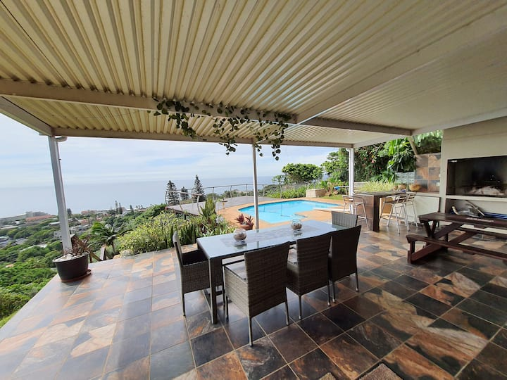 The perfect getaway with uninterrupted seaviews