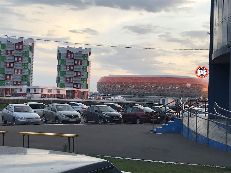 """Stadium """"Mordovia Arena"""" 800 meters"""
