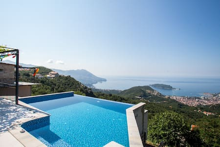Villa Adriatic Horizonte With Sea View and Pool