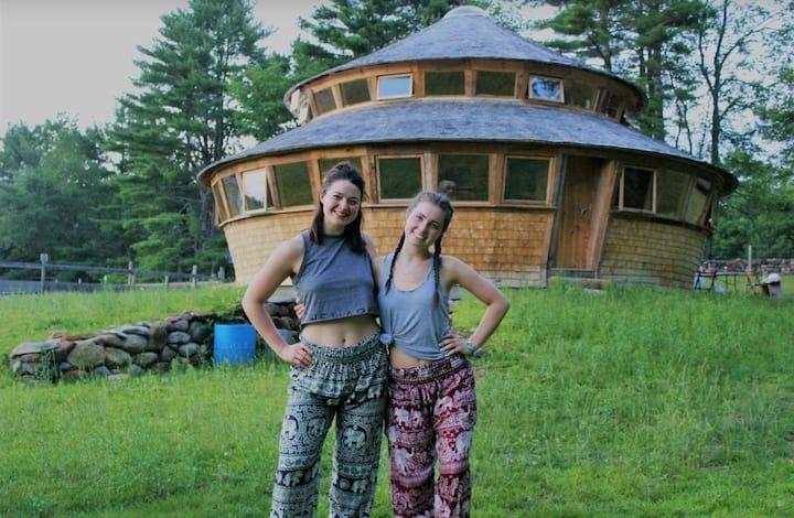 Yurt at the Owen Farm!