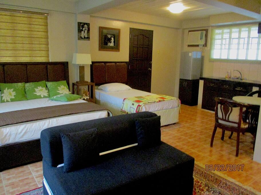 Java Room sleeping area