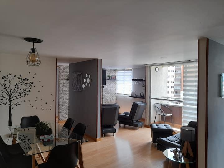"""""""Hermoso apartamento en el sector La Madera"""""""