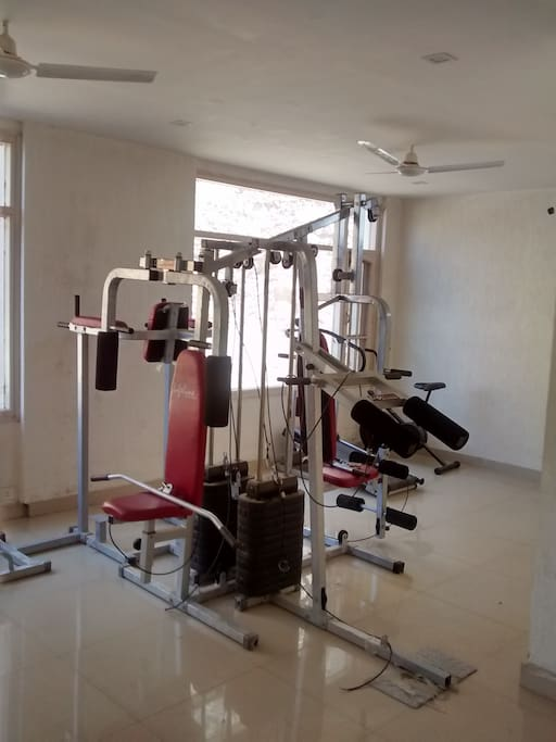 In-house gym.