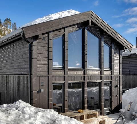 Entire cabin.- Norefjell. Amazing views.