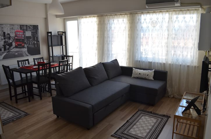 City Center, 2-4 guests, free wifi - Çanakkale Merkez  - Apartamento