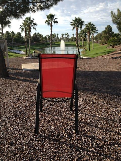 Palm Creek Golf RV Park Model golf front hole #13