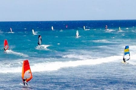 Piso Moderno - windsurfístas, familias y negocios - Vecindario - Apartamento
