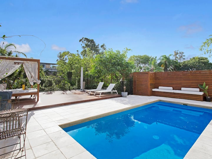 Inner City Luxury Retreat & Spa | BRISBANE HOUSE