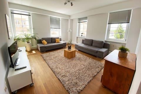 Schöne, helle, zentrale Wohnung nähe Heidelberg