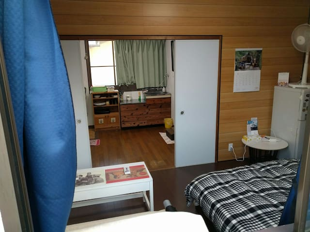 It's a cozy room - Okayama-shi - Appartement