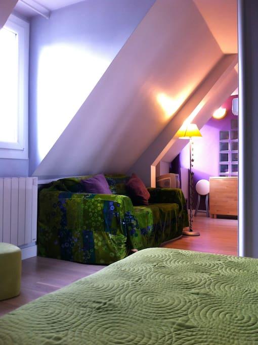 Studio meubl compl tement equip appartements louer - Location appartement meuble ile de france ...