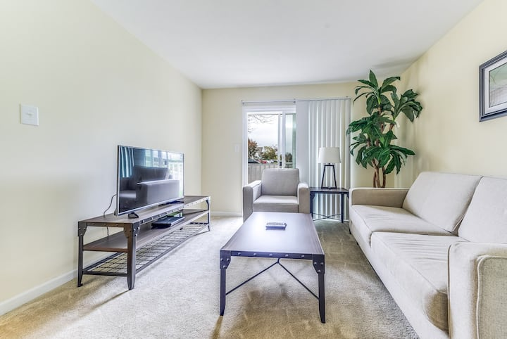 Spacious Richmond, VA 1 BDR Fully-furnished