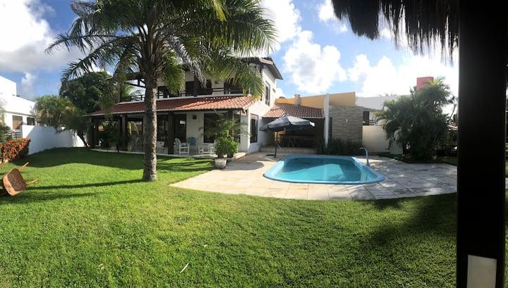 Casa Beira Mar, 4 Suítes, 400m2 c/ Piscina