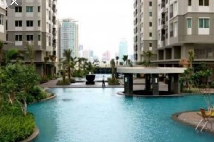 Cozy&clean Thamrin Residence Apt-up to 4 guest