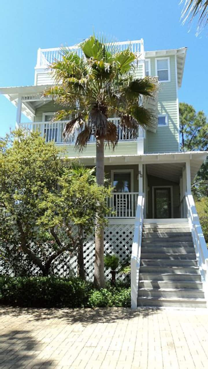 Above the Palms 30A beach house Remodeled 2019