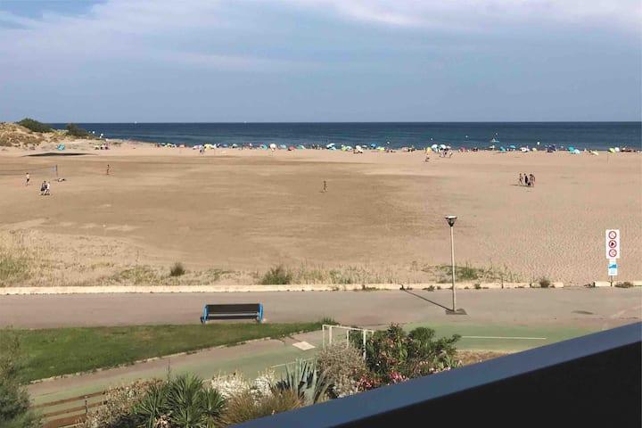 Location appartement vu panoramique sur mer