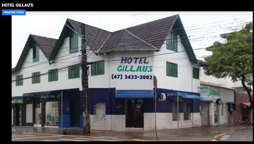Gillaus Hotel - Econômico e Confortável