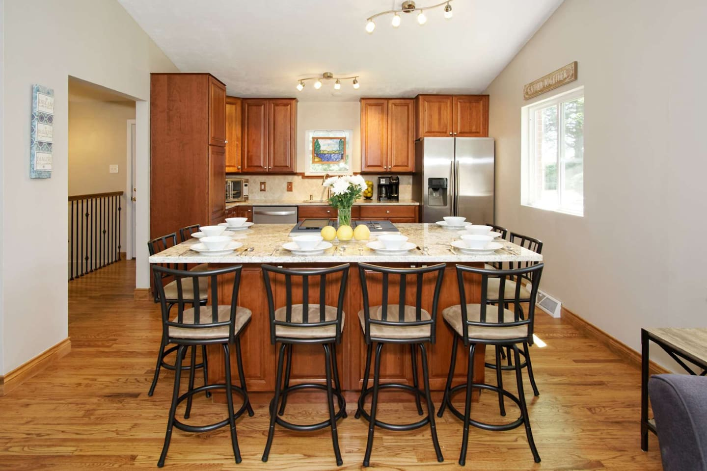 This kitchen was designed and equipped by a food lover. We think you'll love it, too!