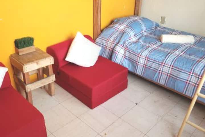 Habitación Compartida para Viajeros