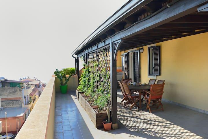 Terrazza sul mare - Pozzallo - Apartamento