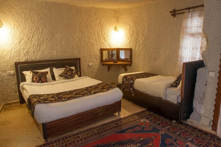 Garden cave hotel (Room 2)