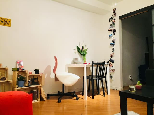Cosy studio in the heart of Montreal (Le Plateau)