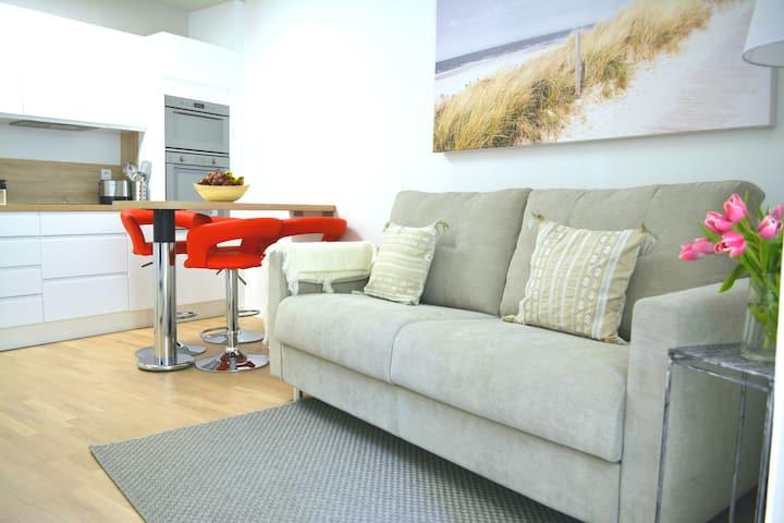 Le Myrazur 40 m² à 2 min des plages, garage inclus