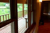 Hallway Picture Window looking East