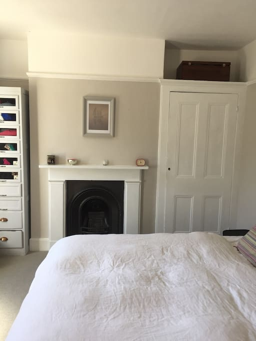 Main bedroom with super kingsize bed