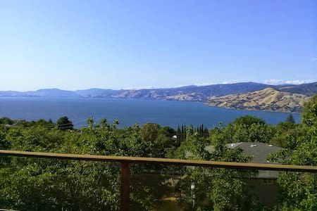 Beautiful Lake House with best view - Kelseyville - Ház