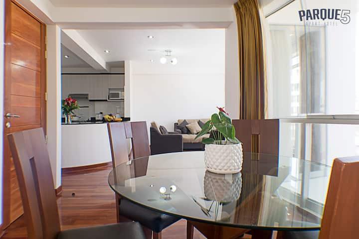 Parque5 Aparthotel para Turistas y Ejecutivos(III)