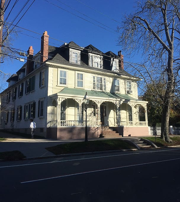 Newly restored Historic Leonard Place.