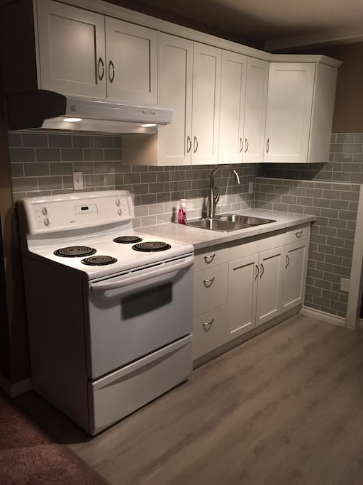 Brand new kitchen with all the amenities of home!